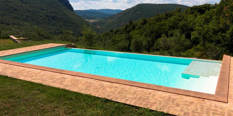 Piscine a sfioro global piscine - Costruire piscina costi ...